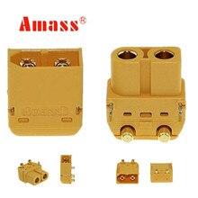20 pairs Vergaren XT60PW PCB Plug Connector Man Vrouw Bullet Connectors Pluggen Voor RC Lipo Batterij 30% Off