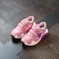 Мальчики и девочки полые сандалии Студент пляж обувь Детская мода открытый обувь малыша Летом освежающий дышащей обуви