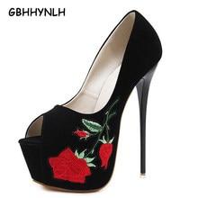 Chaussures de soirée sexy Talons hauts dames pompes Parti femmes chaussures  talons fleur Pompes stilettos talons chaussures de m. 48074244c788