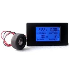AC Multifunction Voltmeter Meter Energy Power Monitor AC 80-260/100A Volt Amp power tester Voltmeter Ammeter Current Transformer
