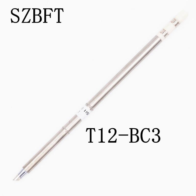 SZBFT T12-BC3 K JL02 ILS I DL32 D24 ect Punte saldatore per stazione di rilavorazione di saldatura Hakko FX-951 FX-952 spedizione gratuita