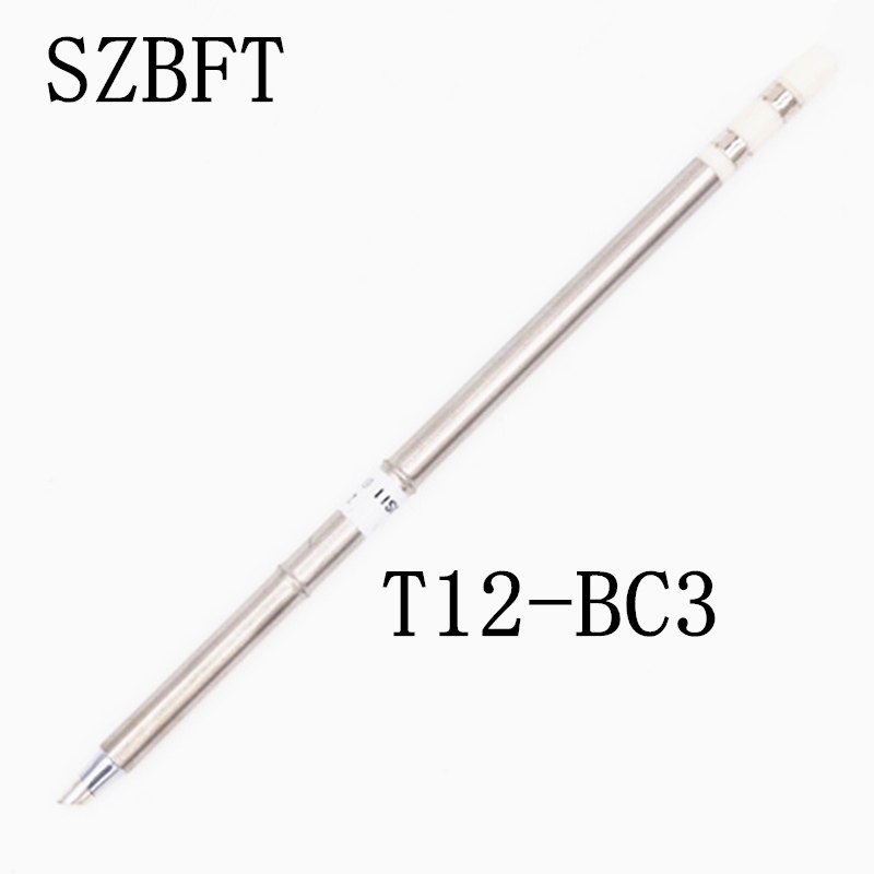 SZBFT T12-BC3 K JL02 ILS I DL32 D24 ect Puntas de soldador para estación de soldadura Hakko FX-951 FX-952 envío gratis
