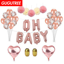 oh baby balloons for party Decoration,heart foil decoration PD-143