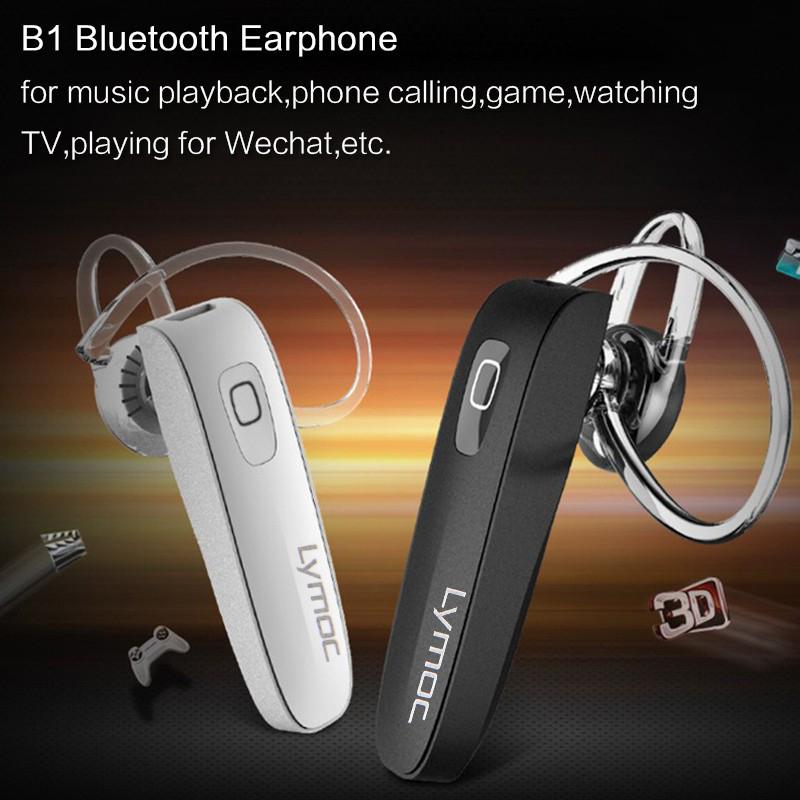 lymoc Б1 гарнитуры блютуз мини беспроводной наушники наушники bluetooth для В4.0 в HD микрофон громкой связи для iPhone просо телефон музыкальный