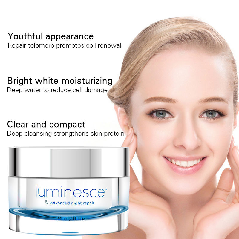 NEW Instantly Ageless Series Jeunesse Luminesce Advanced Night Repair Cream Moisturizing skin care anti wrinkle argireline cream jeunesse luminesce eye firming gel anti aging 10ml 0 3fl oz ageless products permanent result new generation