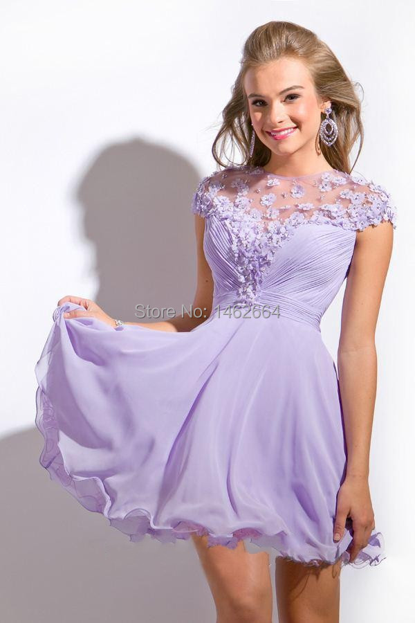 Aliexpress.com : Buy Handmade Flowers Free Shipping Lilac Chiffon ...