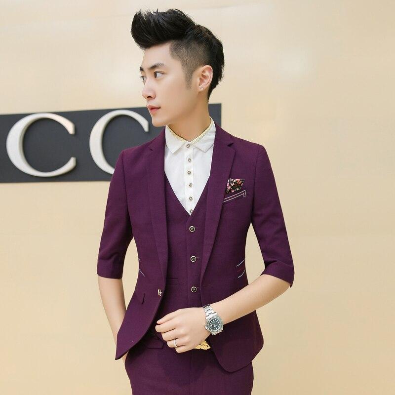 Popular Men Short Sleeve Suits-Buy Cheap Men Short Sleeve Suits ...