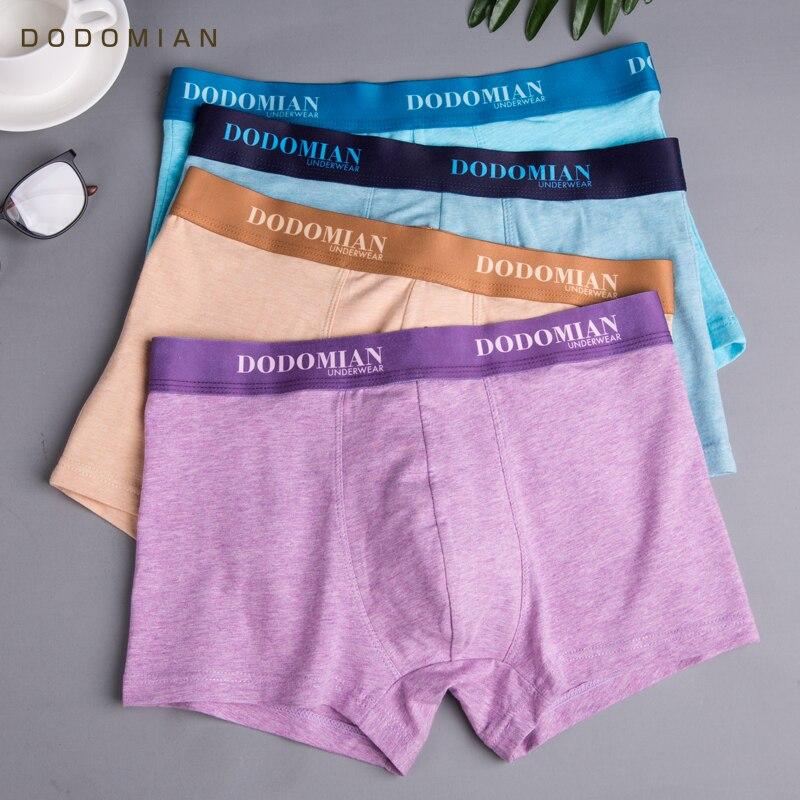 4Pcs/lot Panties Mens Boxer Underwear Plus Size Organic Cotton Underpants Men Sexy Boxer Ventilate Short Homme L XL XXL XXXL 4XL