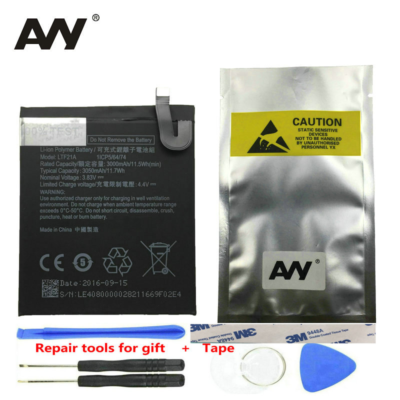 AVY LTF21A batería para Letv LeEco Le 2 Le2 Pro X620 X626 y Le S3 LeS3 X526 X527 X626 móvil teléfono baterías de Li-ion recargable