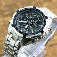 Men Watches Top Quality Digital-Watch Men Military Wrist Watches Full Steel Dual Display Wristwatches Relogio Masculino