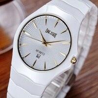DALISHI Элитный бренд Керамика Для женщин часы кварцевые женский смотреть женская одежда часы Мода Montre Femme простые циферблат часов Relogio