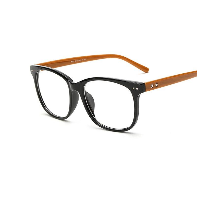 retro men women designer eyeglasses frame fashion square eyeglasses optical computer eye glasses frame oculos de