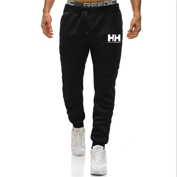 Mens Joggers HELLY HANSEN Casual Pants Fitness Men Sportswear Tracksuit Bottoms Skinny Sweatpants Trousers Jogger Track Pants(China)
