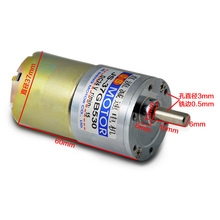 цена на 520 gear motor, 12V24V micro DC motor, CW/CCW, 10W high torque motor, all-metal gear motor
