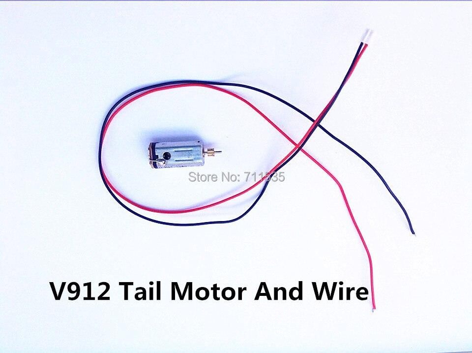 WLtoys V912 v915 Single Blade V912-31 Tail Motor RC 4CH Helicopter spare Parts