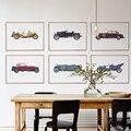 Wecker Vintage Art Prints Lienzos para un pub Decoración No Frame