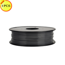Black Color 3D Printer Filaments PLA 1.75mm/0.5kg Plastic Rod Ribbon Consumables Material Refills For MakerBot/RepRap/UP