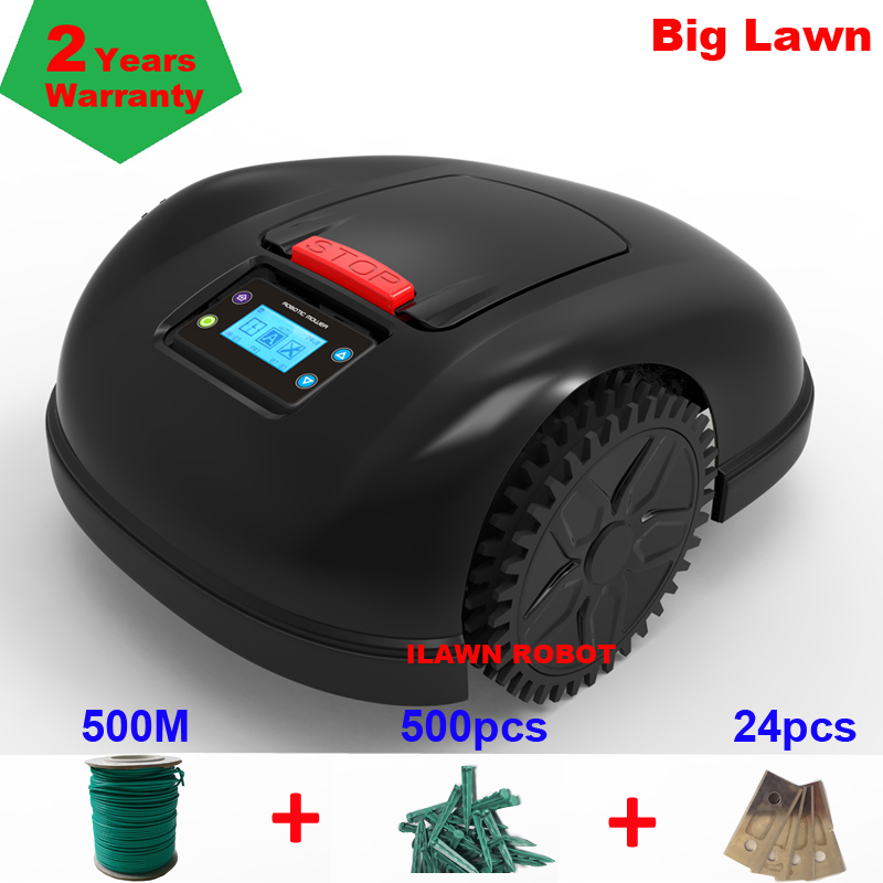 Two Year Warranty Europe Warehouse Robot Grass Cutter E1600T With 500m Wire+500pcs Pegs For Big Garden