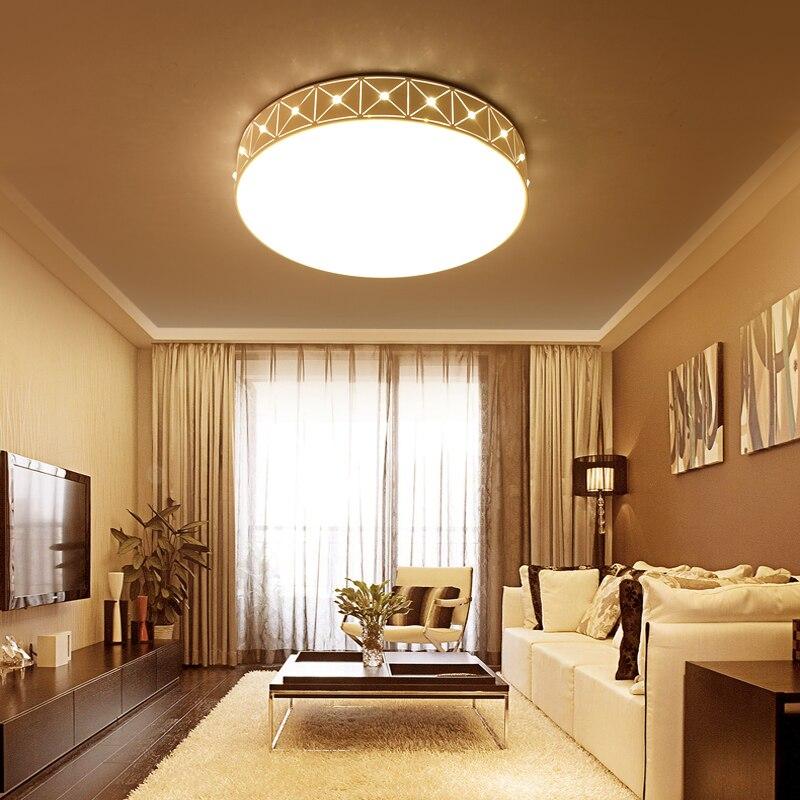 Ceiling Lighting Led Ceiling Lights Kitchen 110 220v Flush: 2017 NEW Round LED Flush Mounted Ceiling Lamp Bed Room