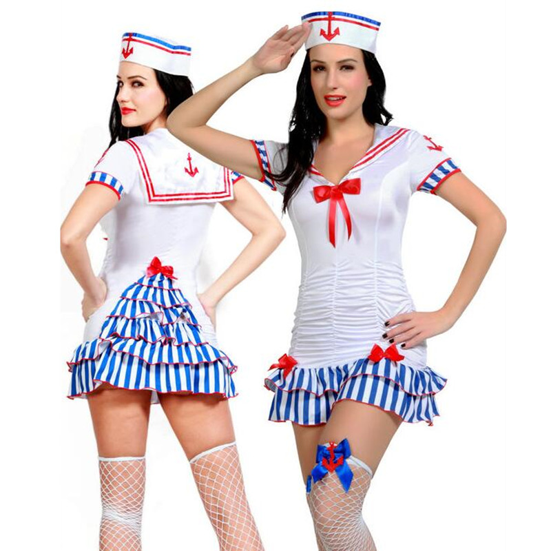 Adult deckhand darling sexy sailor costume