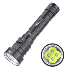 High Quality   Diving Flashlight 4L2 Underwater Torch Brightness Waterproof 100m Light Torch