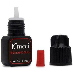 Image 4 - Kimcci 5ml Eyelash Extension Glue 1 3 Seconds Fast Drying Eyelashes Glue Pro Lash Glue Black Adhesive Retention Long Last