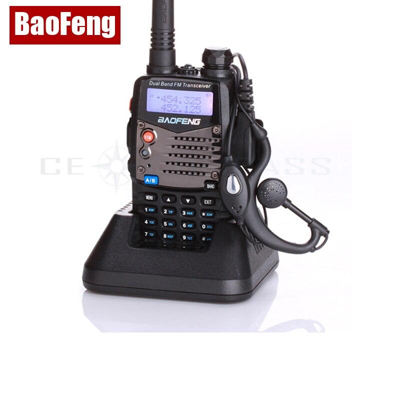 Baofeng UV-5RA Walkie Talkie Scanner Rádio Dual Band Cb Ham Radio Vysílač UHF 400-520MHz & VHF 136-174MHz