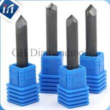 цена на Diamond granite cutter tools mill 8 mm milling cutter 5PCS D8XL50X0.4mm PCD cnc bit for Stone Hard Granite Engraving