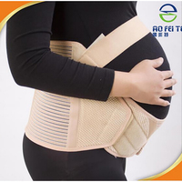 Pregnancy Belly Belt Back Support Brace Maternity Support Band Stretchy Bandage for Women Abdominal Support Belt Breathable T005