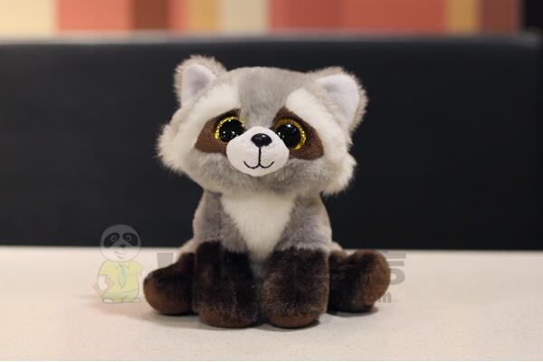 Stuffed  Toys  Cute  Big Eyes Raccoon  Doll  plush  Child Toy Gifts stuffed toys