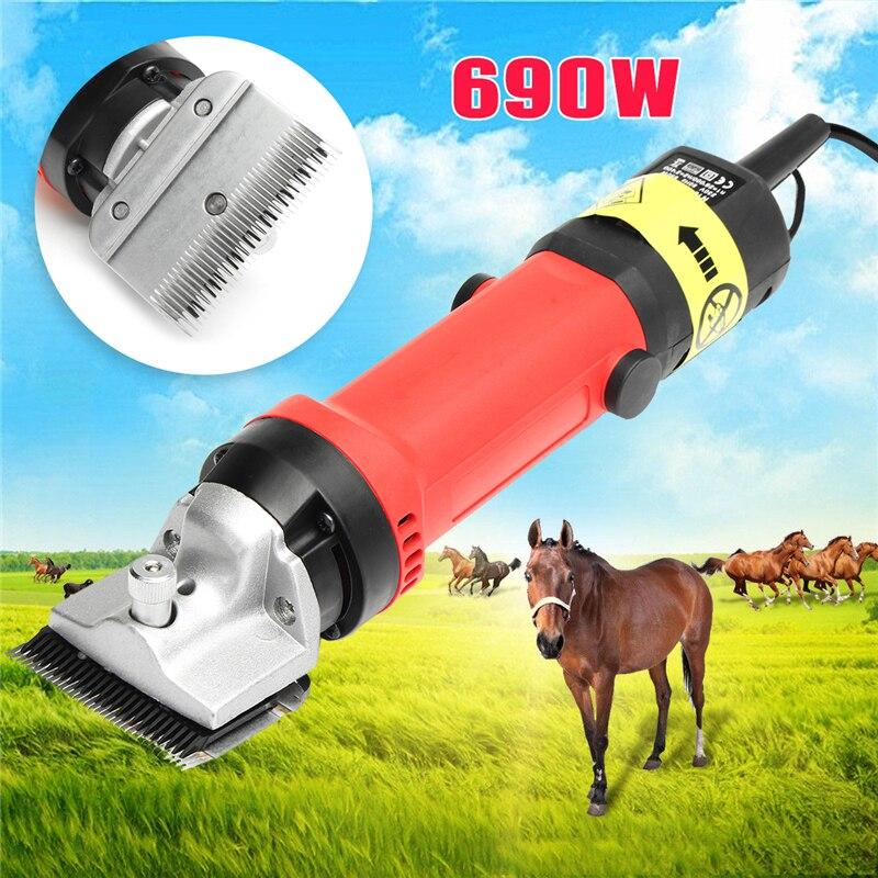 Doersupp 1 PC 690W US/AU Plug 110V/230V Electric Shears Shearing Hair Clipper Cutter Horse Farm Shearing Machine