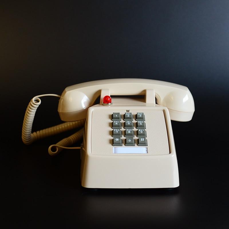 Retro Telephone Landline Old Fashioned American Antique Telephone Landline Phone Office Home Hotel