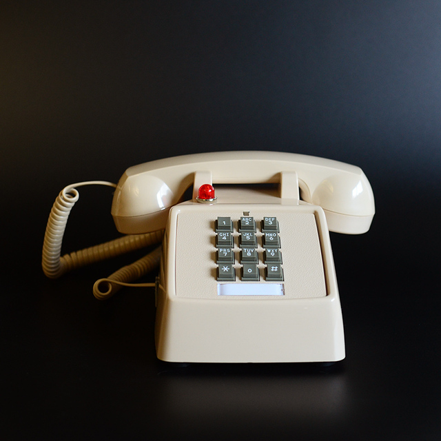 Retro Telephone Landline Old Fashioned American Antique Telephone