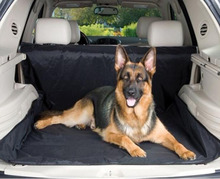 New Design! Dual-use Black 59x47 Waterproof Oxford Auto Car Trunk Mat / Back Seat Cover For Pet Dog new design dual use black 59x47 waterproof oxford auto car trunk mat back seat cover for pet dog