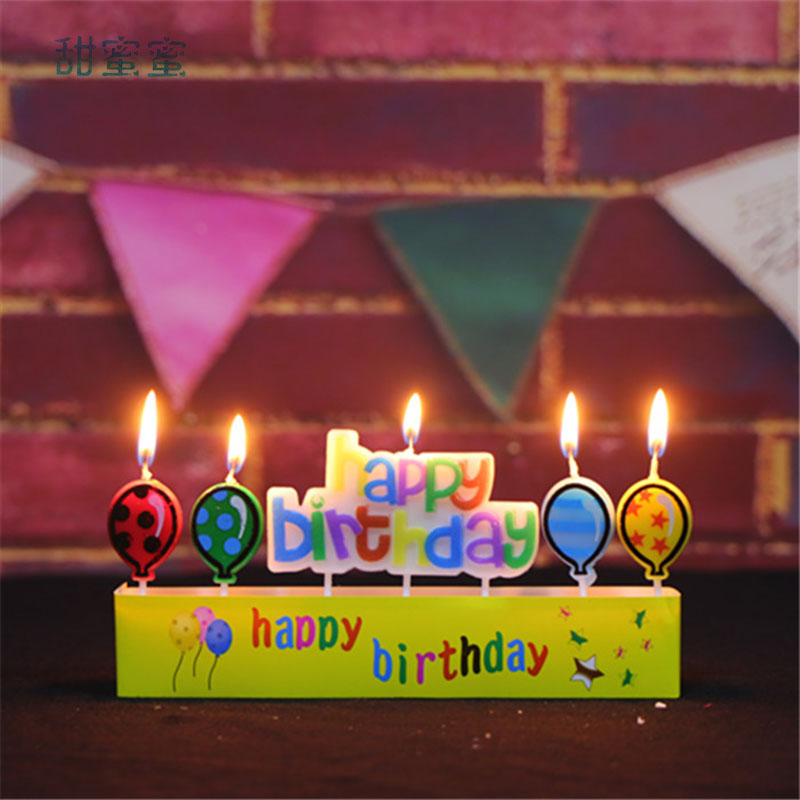 Super 10 Pcs Package Happy Birthday Cake Candles Cartoon Birthday Funny Birthday Cards Online Inifofree Goldxyz