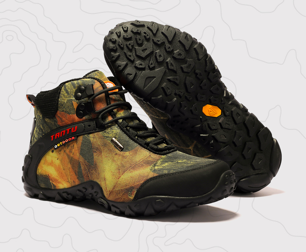 Outdoor Camouflage Tactical Sport Men\`s Shoes (1)