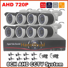 Promotion!HD 8CH AHD DVR 8PCS 720P AHD Excessive Decision CCTV Digicam System 8Channel Video Surveillance Equipment for indoor/out of doors use