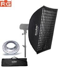 """Godox FW60 * 90 60*90 cm 23,6 """"x 35,4"""" Streifen Beehive Waben Raster Softbox mit Bowens montieren"""