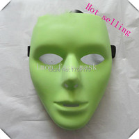 Lmon Scary White Face Masks Halloween Masquerade DIY Mime Mask Ball Party Costume Masks Factory