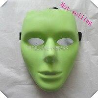 Lmon Scary Wit gezicht Maskers Halloween Maskerade DIY Mime Mask Ball Party Kostuum Maskers fabriek