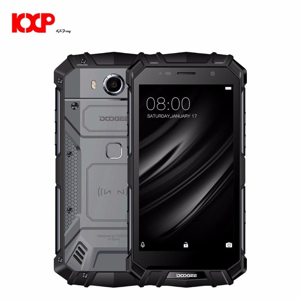 DOOGEE S60 Lite IP68 Waterproof MTK6750T Octa Core 4GB 32GB 5580mAh 16.0MP 5.2 inch 4G LTE Face Unlocked Smartphone