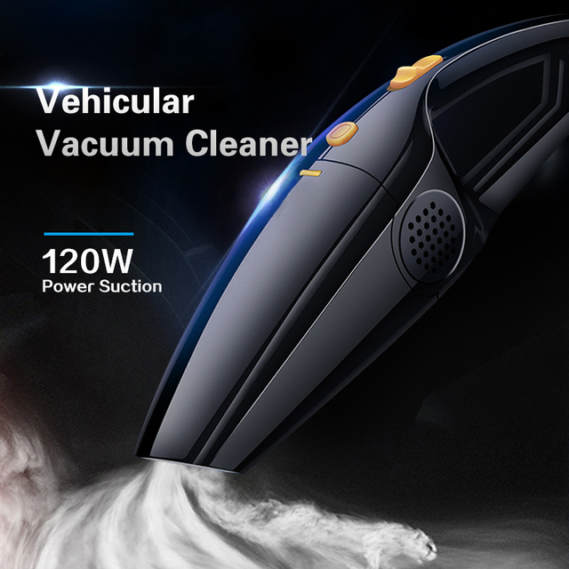 Car Vacuum Cleaner High Power 120W Portable Handheld Vacuum Cleaner Wet and Dry Dual Use Car Vacuum 12V Vacuum Cleaners