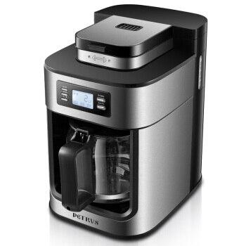 Полностью автоматический кафе Американский эспрессо капельный Кофе чайник соевая бобовая мука двойного назначения ЖК столик кофейная маш
