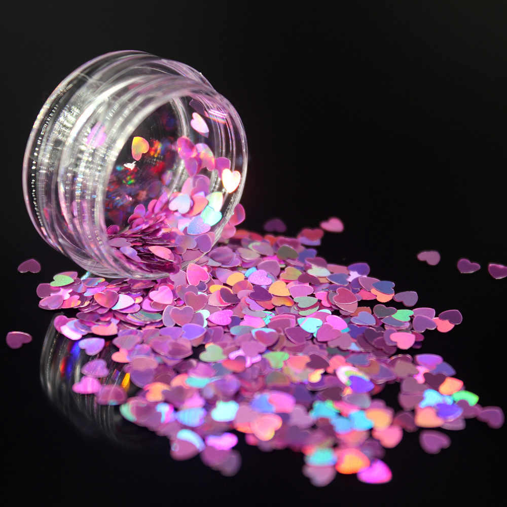 1 pudełko światła różowe paznokcie żel do paznokci żel zestaw do polerowania do Manicure Semi Permanent UV żel lakier hybrydowy Nail art w kształcie serca w kształcie serca