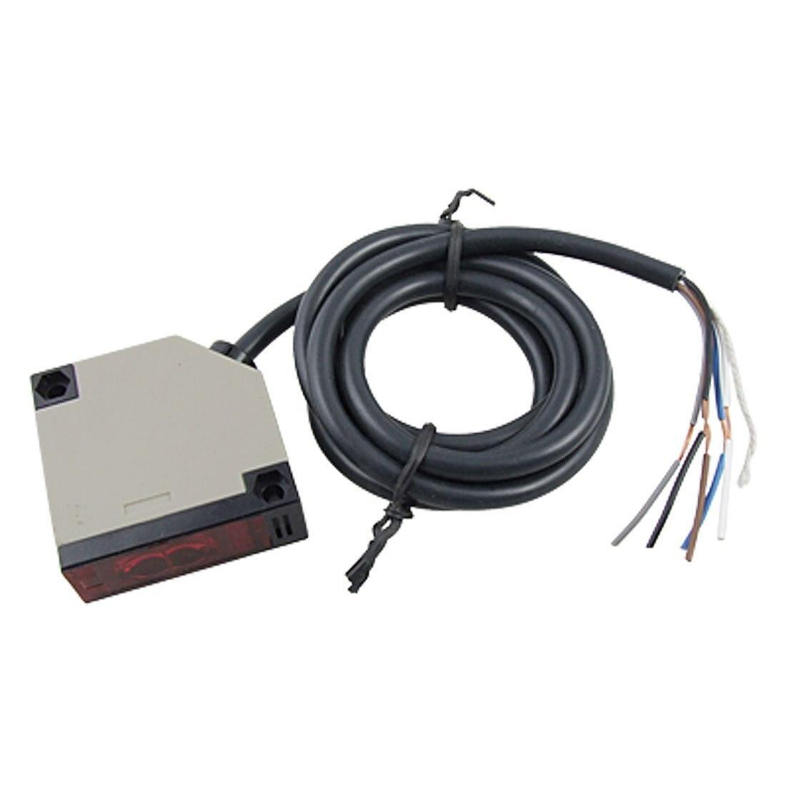 E3JK-R4M12 Retroreflective Photoelectric Switch Sensor w Reflector r e m r e m out of time 3 lp
