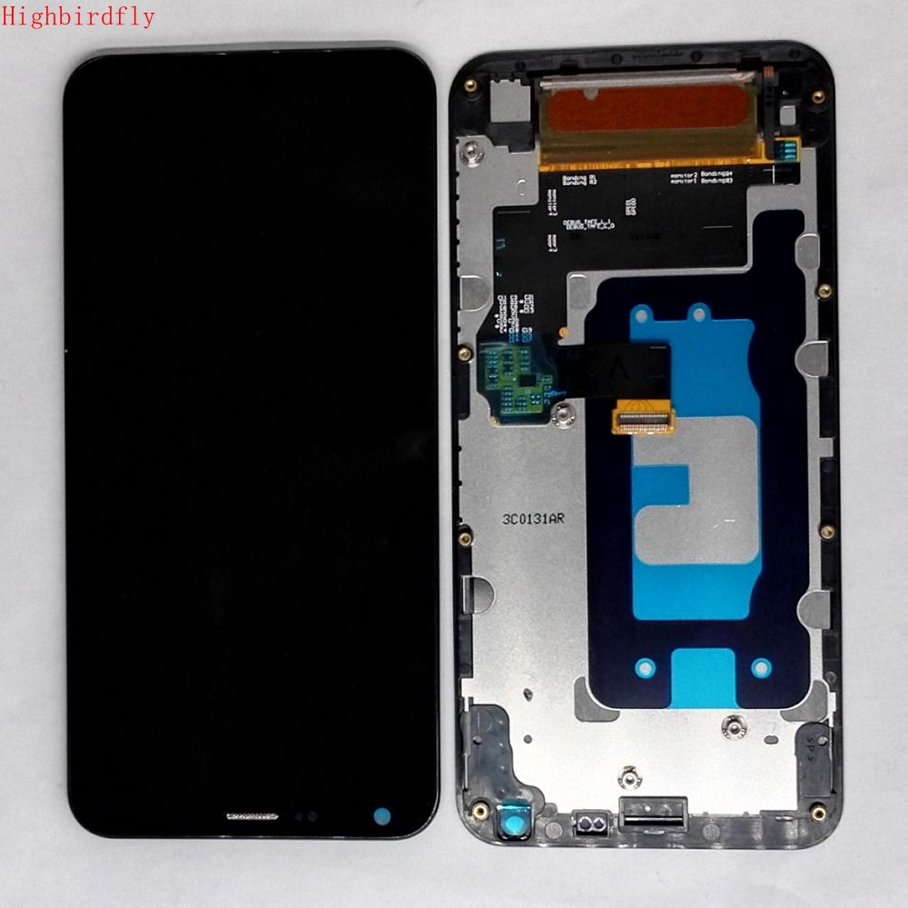 For Lg Q6 Q6a M700 M700AN M700Ar M700N M700F M700H M700Y Lcd Frame+Display+Screen Full Set Together