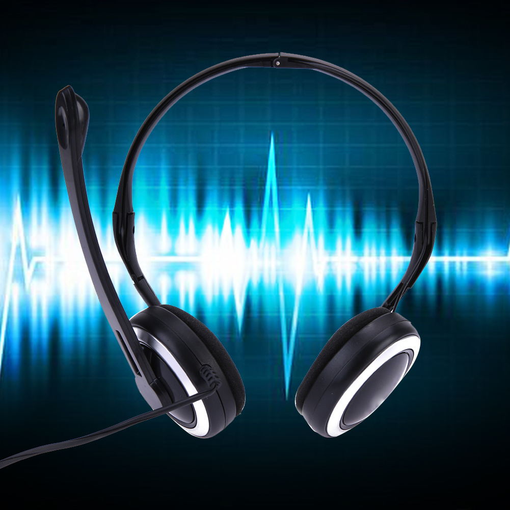 Behind The Ear Wired Headband Headphone Earphone Line Control Folding Ear Clips For MP3 PC Phone Folding Earphone