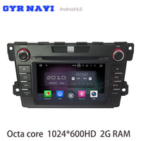Octa Core Android 6 0 Car DVD Gps For Mazda Cx 7 Cx7 2012 2016 With