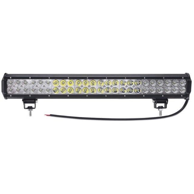 23 INCH 144W LED WORK LIGHT BAR Headlights OFFROAD LAMP 12V 24V led ...
