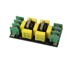 Image 1 - Dtjv 110V 220V AC אספקת חשמל מסנן לוח 4A EMI מסנן רעש מדכאי אודיו מטהר מגבר רעש טומאה מטהר